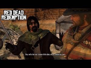 The Great Mexican Train Robbery - Red Dead Redemption Mission #39 (HD)