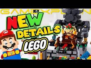LEGO Bowser's Castle Expansion Set Revealed for LEGO Mario! + Price & Date Confirmed!