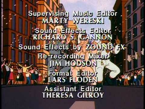 The Real Ghostbusters Ending Credits