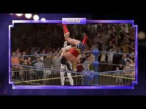 WWE 2K17 Emma Frost vs. Wonder Woman - Submission Match