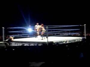 WWE House Show, 03/09/11, Natalya VS Alicia Fox at Paris France.