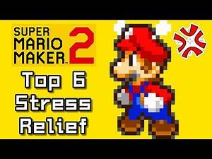 Super Mario Maker 2 Top 6 STRESS RELIEF Courses (Switch)