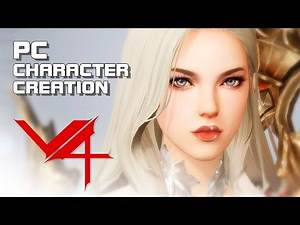 V4 PC Version - Character Creation - Mobile & PC - F2P - KR