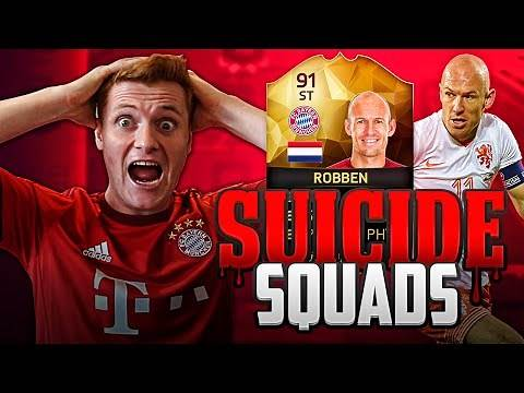 FIFA 16 - EPIC FIRST OWNER IF ST ROBBEN SUICIDE SQUADS!!!!