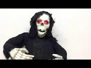 Gemmy Animated Dancing Grim Reaper Review (Custom)