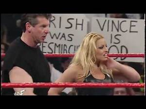 WWE Trish Stratus and Vince McMahon vs Stephanie and William Regal