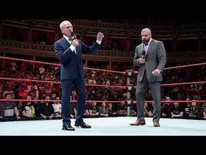 Triple H and GM Johnny Saint announce formation of the NXT UK brand: 2018 WWE U.K. Tournament