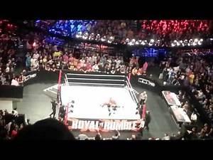John Cena wins 2013 Royal Rumble! (Live)