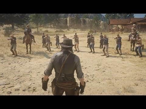 John Marston s Death in Red Dead Redemption 2