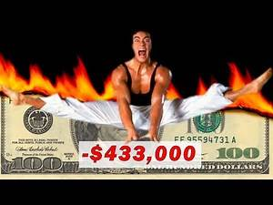 HOW Van Damme LOST Money making a movie / Stuntman Injury and Lawsuit from Cyborg