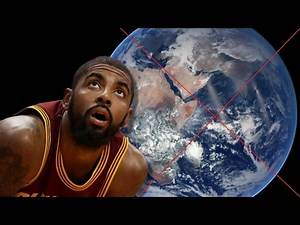 Cavs PG Kyrie Erving Admits Earth is FLAT & Questions the Existence of Dinosaurs!!! #FlatEarth