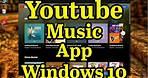 🎞How to install YouTube Music app on Windows 10    Progressive Web App    CoolTechtics