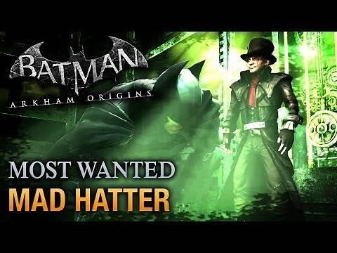 Batman: Arkham Origins - Mad Hatter (Most Wanted Walkthrough)