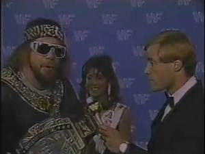 Macho Man Randy Savage Promo on Hulk Hogan (05-17-1986)