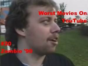 "Worst Movies On YouTube #20- ""Zombie 90"" Review"