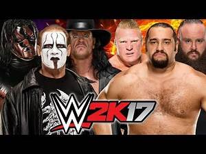 Kane, Sting and The Undertaker vs Brock Lesnar, Braun Strowman and Rusev