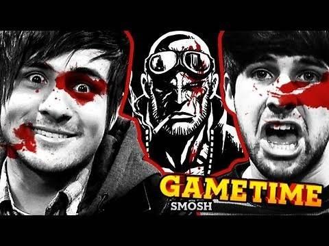 MOST VIOLENT WII GAME (Gametime w/ Smosh)