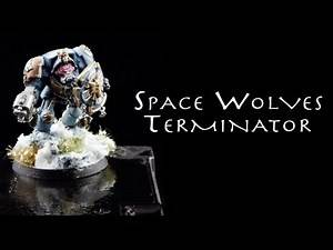 Painting Warhammer 40K: Space Wolves Terminator