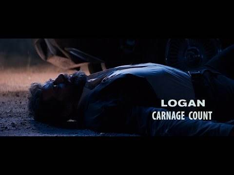 Logan (2017) Carnage Count