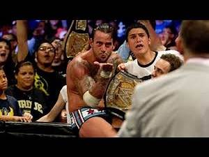 CM PUNK WINS WWE CHAMPIONSHIP AND LEAVES WWE | Money In The Bank 2011