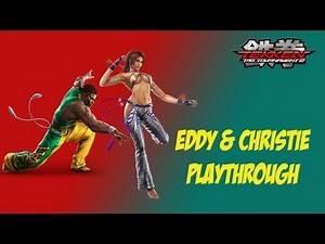 Tekken Tag Tournament 2 - [Hard - Arcade Battle] - Eddy & Christie Playthrough