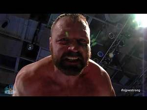 Jon Moxley invades NJPW STRONG! NJPW STRONG Backstage comments