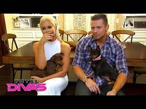 Maryse surprises The Miz with their new rescue dog, Luna: Total Divas, Nov. 30. 2016