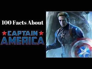 100 Facts about Captain America