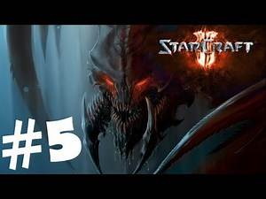 StarCraft 2 Heart of the Swarm Campaign Walkthrough Part 5 Gameplay Review Lets Play HD Hard PC