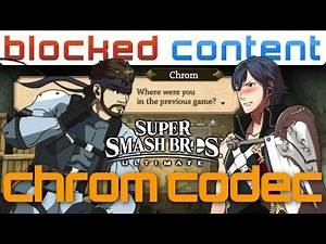 CHROM vs Snake CODEC Conversation (Super Smash Bros. Ultimate)
