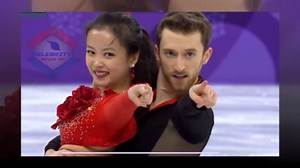 Winter Olympics 2018_ French ice dancer suffers wardrobe malfunction