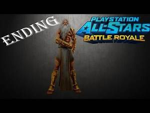 Playstation: All-Star Battle Royale - Walkthrough - Part 2 - ENDING (PS3 Gameplay Let's Play)