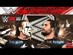 Seth Rollins vs Sting - Night of Champions 2015 - WWE 2k16 Gameplay PS4 XBOX ONE