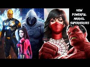 NEW Powerful Marvel Superheroes Coming to the MCU | Future Marvel Characters | Don't Miss