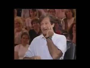 Robin Williams funny story about breaking Robert De Niro nose