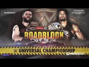WWE Roadblock: End of the Line 2016 Official Match Card: Kevin Owens vs. Roman Reigns [HD]