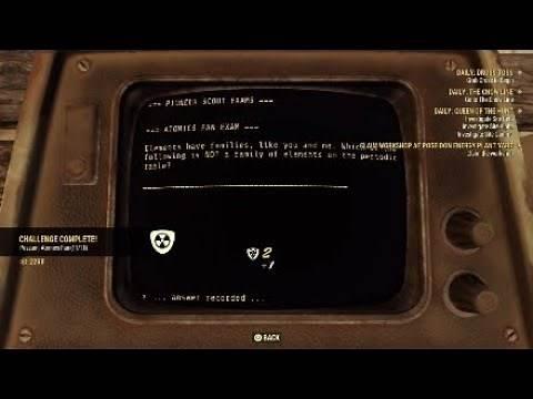 Fallout 76 - Atomics Fan Badge