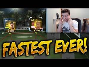 THE FASTEST STRIKERS ON FIFA 15!!!