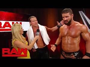 Dolph Ziggler & Robert Roode speak on their new partnership: Raw, Aug. 26, 2019