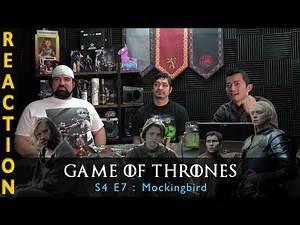 Game of Thrones Season 4 Episode 7 Mockingbird - Reaction
