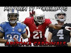 Madden 17 Connected Franchise | Rebuilding The Arizona Cardinals | AMAZING DEFENSE! SUPER BOWL BOUND
