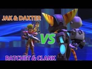 Ratchet VS Jak - PlayStation All Stars Battle Royale