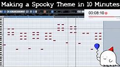 Attempting to Make a Spooky Video Game Theme in 10 Minutes    Shady Cicada