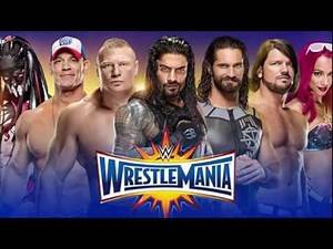 WrestleMania 33: 9 Possible/confirmed Wrestlemania 33 Matches!!!