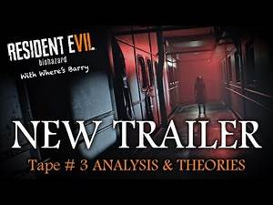 RESIDENT EVIL 7 NEW TRAILER ANALYSIS | RE7 SECRETS & THEORIES | Zombies? Boat?