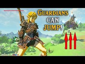 Guardians CAN JUMP! in Zelda Breath of the Wild