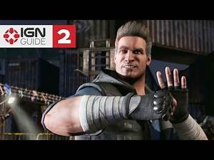 Mortal Kombat X Story Mode - Chapter 01: Johnny Cage, pt 2