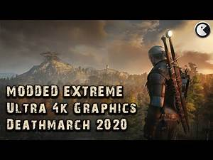 THE WITCHER 3 Modded Extreme #03 Field of Death 2020 ULTRA Graphics || 60+ Mods Deathmarch Subtitles