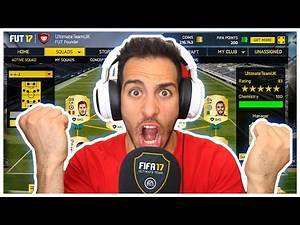 ΠΡΩΤΗ ΦΟΡΑ ULTIMATE TEAM | Fifa 17
