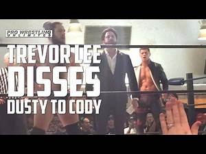 Trevor Lee Disses Dusty Rhodes To Cody's Face